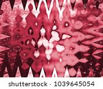 abstract zigzag pattern | Shutterstock . vector #1039645054