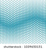 geometric gradient triangle... | Shutterstock .eps vector #1039650151