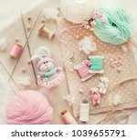 Handmade Knitted Rabbits