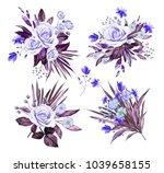 watercolor illustration. ... | Shutterstock . vector #1039658155