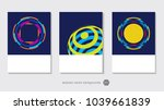 modern abstract design for art... | Shutterstock .eps vector #1039661839