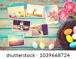 photo album in remembrance and...   Shutterstock . vector #1039668724
