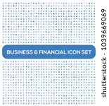 business and financial vector... | Shutterstock .eps vector #1039669069