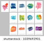 a scalable vector calendar for... | Shutterstock .eps vector #1039692901