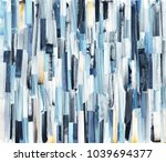 Abstract Art Background With...