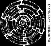 abstract grunge grid stripe...   Shutterstock .eps vector #1039707901