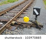 Hand Operated Railroad Switch...