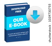 e book icon with download...