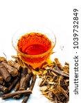 ayurvedic herb liquorice root... | Shutterstock . vector #1039732849
