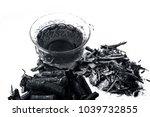ayurvedic herb liquorice root... | Shutterstock . vector #1039732855