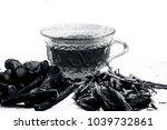 ayurvedic herb liquorice root... | Shutterstock . vector #1039732861