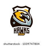 colorful logo  sticker  emblem... | Shutterstock .eps vector #1039747804