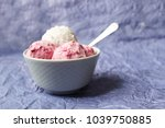 homemade strawberry and vanilla ... | Shutterstock . vector #1039750885