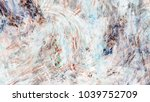 abstract painted texture.... | Shutterstock . vector #1039752709
