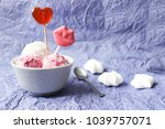 homemade strawberry and vanilla ... | Shutterstock . vector #1039757071
