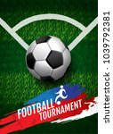 football tournament  soccer ... | Shutterstock .eps vector #1039792381