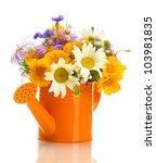 beautiful bouquet of bright ...   Shutterstock . vector #103981835