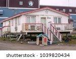 barrow  utqiagvik   alaska  usa ... | Shutterstock . vector #1039820434