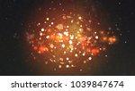 global network background. | Shutterstock . vector #1039847674