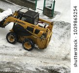 snow cleaning machine   aitos ... | Shutterstock . vector #1039865254