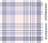 plaid check pattern in lavender ... | Shutterstock .eps vector #1039865464