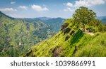 view from little adam's peak.... | Shutterstock . vector #1039866991