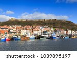 scarborough  england   february ... | Shutterstock . vector #1039895197