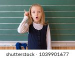 First Grade Pupil A Girl...