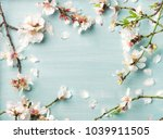 spring floral background ... | Shutterstock . vector #1039911505