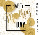 mother's day background with... | Shutterstock .eps vector #1039912054