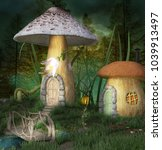 Fantasy Elves Village In A...