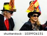 nerja  spain   february 11 ...   Shutterstock . vector #1039926151
