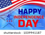 independence day holiday. usa | Shutterstock . vector #1039941187