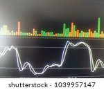 forex chart analysis data | Shutterstock . vector #1039957147