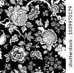 seamless pattern with fantasy... | Shutterstock .eps vector #1039970179