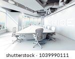 3d modern office conference room | Shutterstock . vector #1039990111