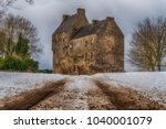 this is midhope castle  west... | Shutterstock . vector #1040001079