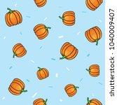 seamless vegetables set of... | Shutterstock .eps vector #1040009407