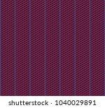 isometric grid. vector seamless ... | Shutterstock .eps vector #1040029891