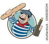 Funny Clipart Of A French Man...