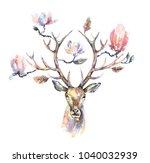 watercolor illustration....   Shutterstock . vector #1040032939
