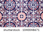 detail of the traditional tiles ... | Shutterstock . vector #1040048671