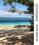 scene of tranquility island ... | Shutterstock . vector #1040053135