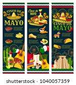 cinco de mayo festival greeting ... | Shutterstock .eps vector #1040057359