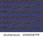 futuristic curved stripes... | Shutterstock .eps vector #1040058799