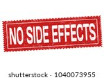 no side effects grunge rubber... | Shutterstock .eps vector #1040073955