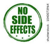 no side effects grunge rubber... | Shutterstock .eps vector #1040073964