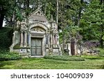 image of a mausoleum in a... | Shutterstock . vector #104009039