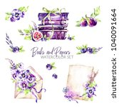 Watercolor Borders Set With Ol...