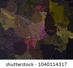 oil painting on canvas handmade.... | Shutterstock . vector #1040114317